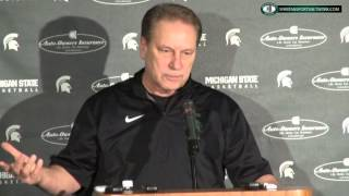 Tom Izzo Press Conference: Previewing Maryland rematch