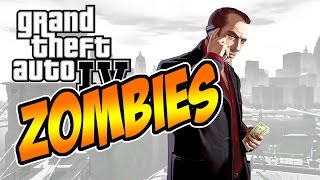GTA IV ZOMBIE MOD (Infection Mod) PC Gameplay
