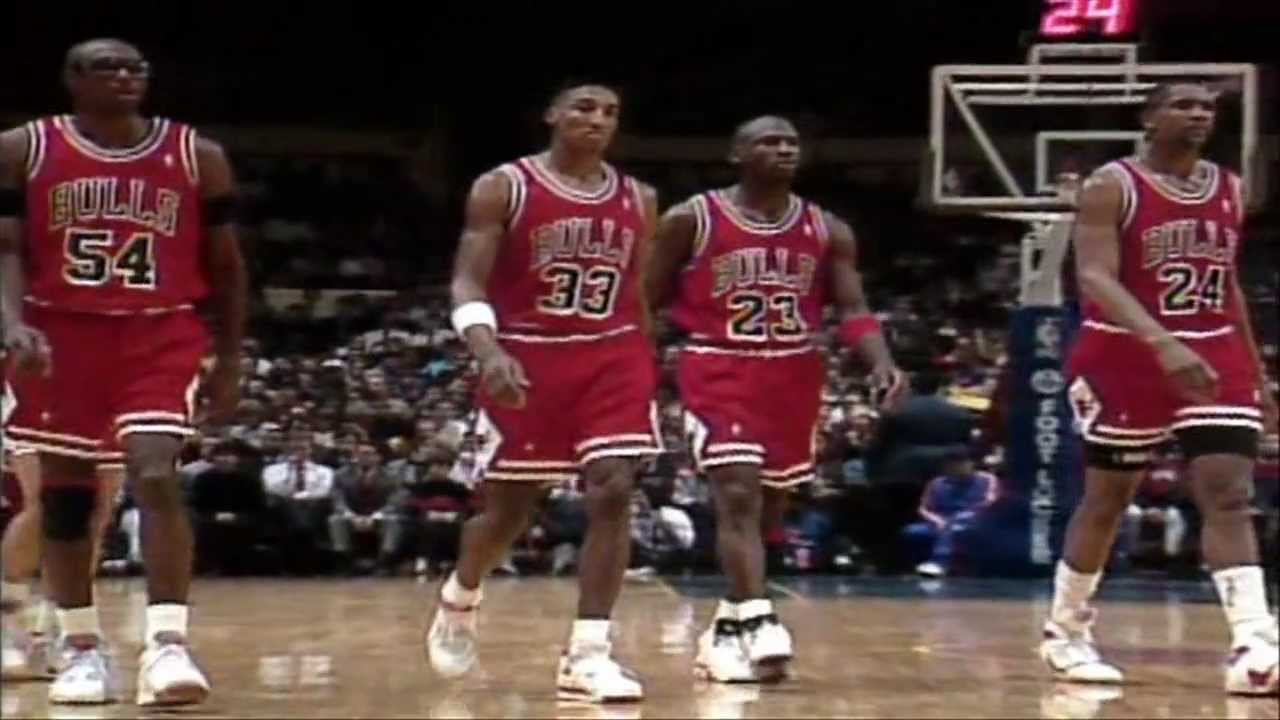 Chicago Bulls 1991 NBA Championship Part 1 - YouTube