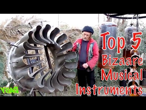 Top 5 Strangest Musical Instruments