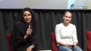 Бахаре Афшари и Сердар Азмун представили фильм «Серик»