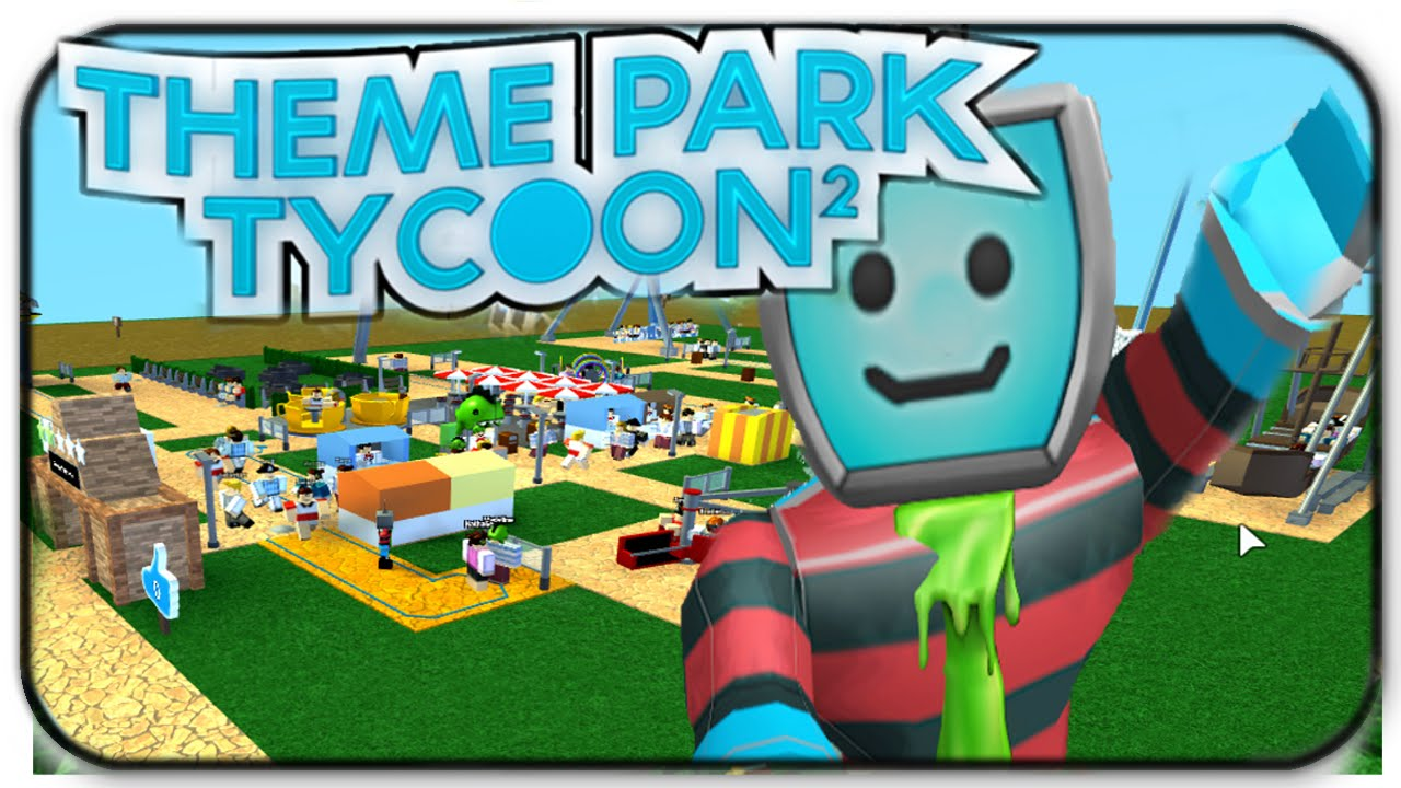Roblox Theme Park Tycoon 2 - These Rides Are Wild And Crazy! - Ep ...
