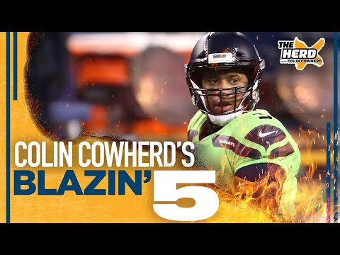 Blazin' 5:Colin Cowherd's picks for Week 12 of the 2020 NFL season   THE HERD