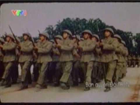 Vietnam Military Victory Parade in Hà Nội - Lễ Duyệt binh 1954
