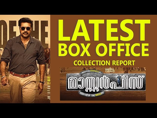 Masterpiece Malayalam Movie Box Office Collection Report