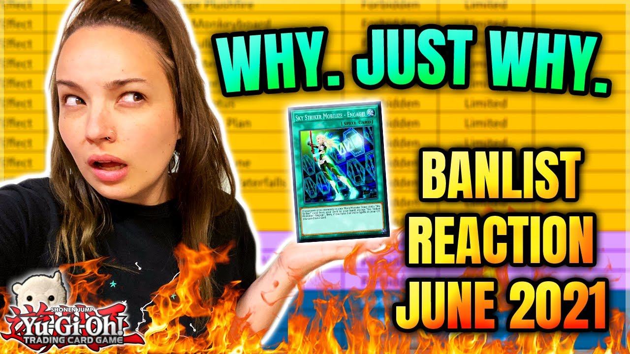 Yu-Gi-Oh! THIS FORMAT IS A DUMPSTER FIRE. COOL. | JUNE 2021 BANLIST LIVE REACTION!