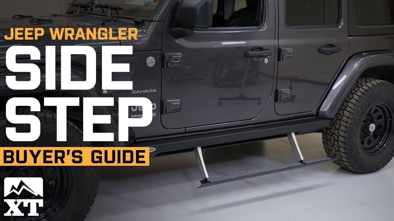How To Choose Side Steps For Your Jeep Wrangler Youtube
