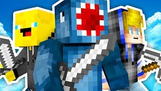 THE ULTIMATE BEDWARS TEAM!! - Minecraft Mini Game thumbnail