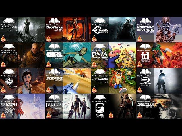 Die Entstehungsgeschichten der Videospielefirmen
