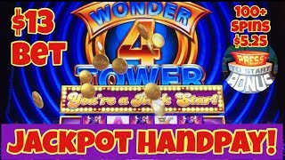 😱 Jackpot Handpay 😱 Epic Wonder 4 Tower Line Hit! 100+ Spins On Return Planet Moolah Casino Pokies