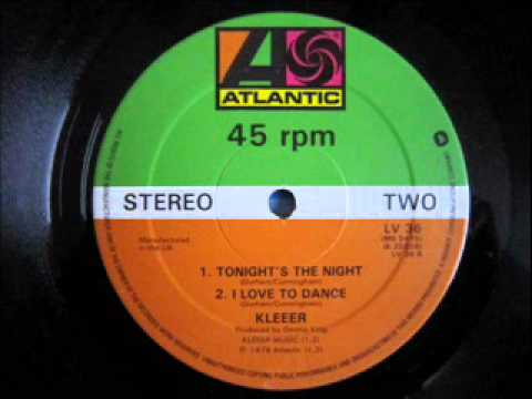Kleeer - Tonight's The Night /I Love To Dance