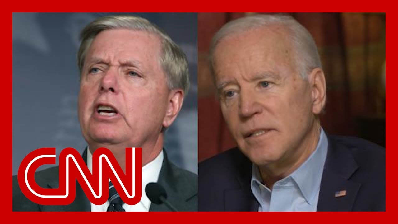 "Biden says he's ""embarrassed"" by Lindsey Graham's defense of Trump"