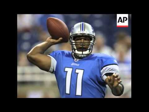 Top overall NFL draft pick Matthew Stafford was named starting quarterback for the Detroit Lions Mon