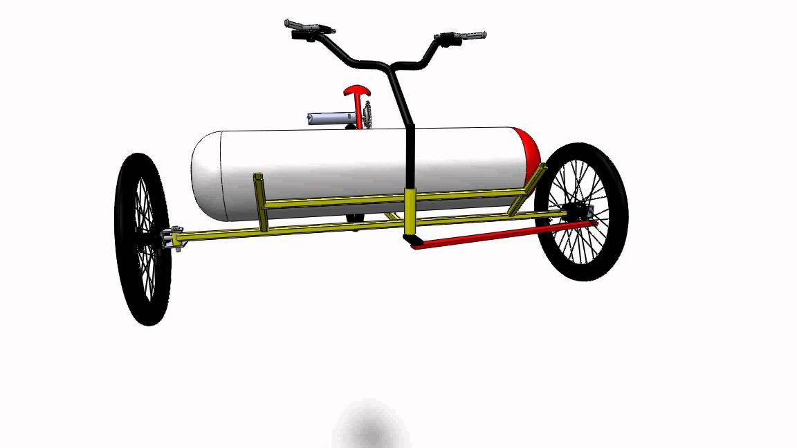 Compressed Air Vehicle Project Be Youtube