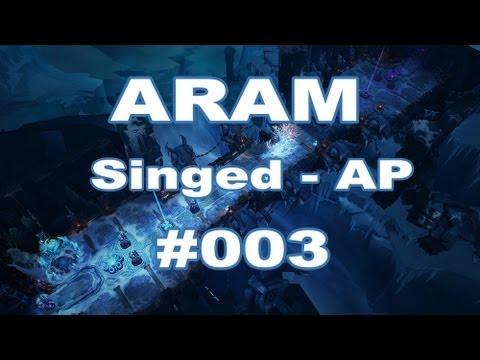 Let's Play League of Legends ARAM - Singed AP [German] [HD] - #003