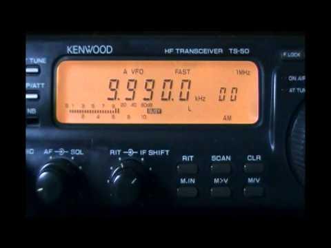 Atrocious audio from Radio Cairo in hausa - 9990 kHz