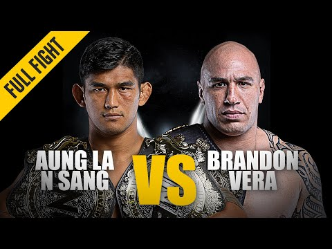 Aung La N Sang Vs. Brandon Vera | ONE Full Fight | October 2019