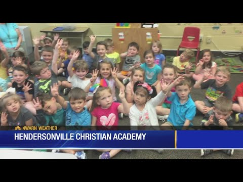 Lisa Spencer visits Hendersonville Christian Academy