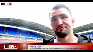 HUGHIE FURY: TALKS BRITISH TITLE SHOT AND AMIR KHAN RING RETURN