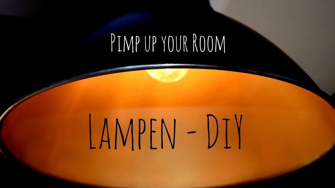 Schwarze Lampe Pimp Up Your Room Gold Schwarze Lampe Diy