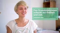 Das Grundeinkommen schenkt Zeit - Gewinnerin Anne erzählt