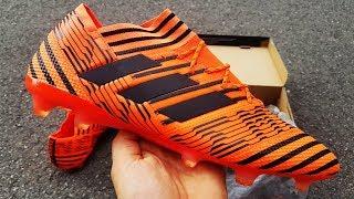 Adidas Nemeziz 17.1 Pyro Storm Pack Unboxing - Nuevas Botas De Fútbol Leo Messi