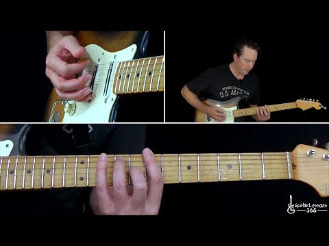 Rush - YYZ Guitar Lesson (Part 1)