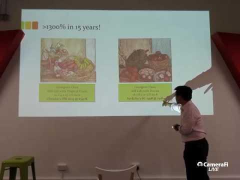 TecHour: Art Market and Art Valuation by Howie Lau