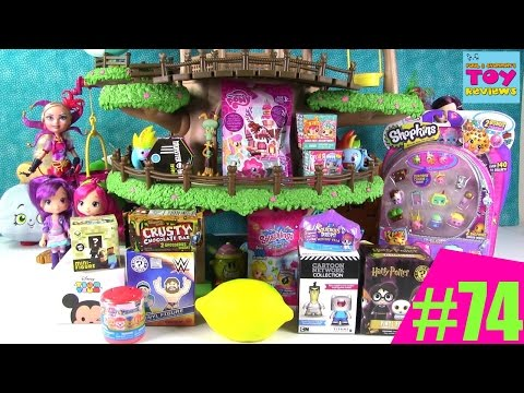 Thumbnail: Blind Bag Treehouse #74 Unboxing Disney Shopkins Squinkies Paw Patrol Mashems | PSToyReviews