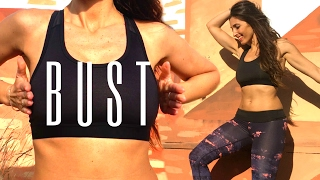 Breast Lift Workout Without Surgery | Bust Exercises incl. 5 Beauty Tips