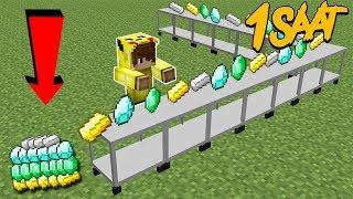 İSMETRG Minecraft FABRİKALAR 1 Saat!