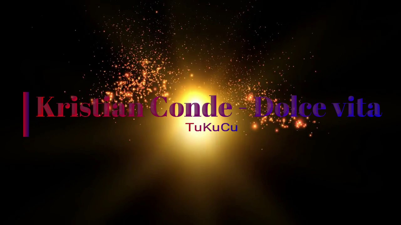Kristian Conde - Dolce vita (Italo Dance Edit)✔️