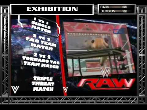 WWE RAW 2015 PC game Start Up