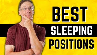 Best Sleeping Positions After Total Knee OR Hip Replacement Surgery Video