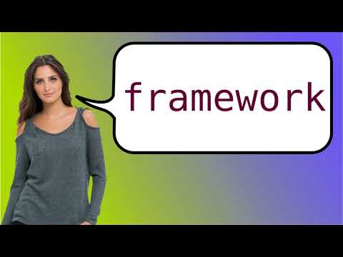 How to say 'framework' in French?