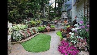Top 40 Amazing Landscaping Ideas Tour 2018 | Garden Patio Backyard Small Front Yard Easy Gardening