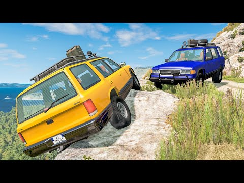 Off Road Crashes #44 - BeamNG DRIVE | SmashChan