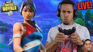 STORYTIME: Kids Beat Me Up - Fortnite Live Stream DUOS