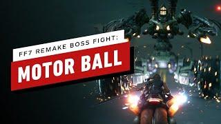 Final Fantasy 7 Remake Walkthrough  - Motor Ball Boss Fight
