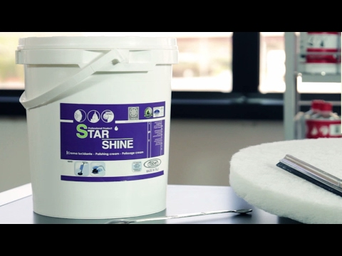 Faber Granite Floor Polishing Star Shine Polishing Cream Youtube