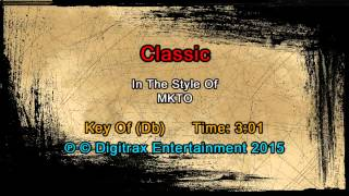 MKTO - Classic (Backing Track) - Stafaband