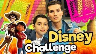 Disney Challenge - feat. Luis Angel Gomez / Miguel en Coco/ Memo Aponte