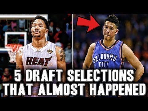 5 Crazy NBA Draft Selections That Almost Happened  Devin Booker Drafted By Thunder?
