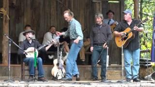 Daniel Rothwell singing Whoop 'Em Up Cindy at Jerusalem Ridge Bluegras