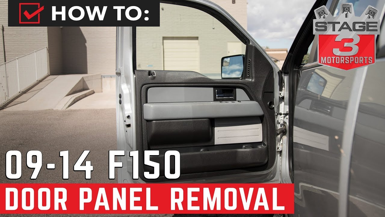 2009 2014 F150 Door Panel Removal Instructions Youtube