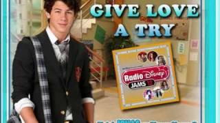 Give Love A Try - Nick Jonas (From Disney Channel's JONAS)