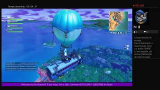 Live: Fortnite: Batle Royal #2 - Playing with followers