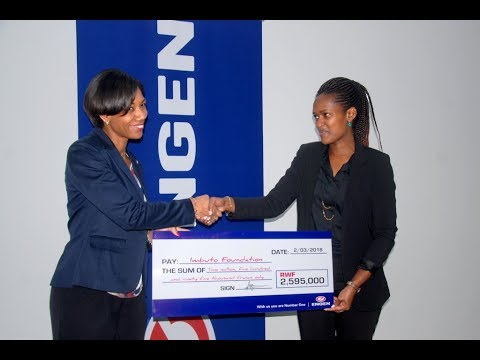 Engen Rwanda Hands Over Annual Scholarship For Students To Imbuto