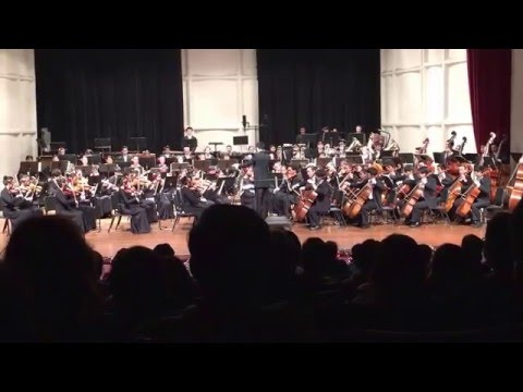 "Moanalua High School Symphony Orchestra performing ""Symphony No. 5, IV Allegro non troppo"