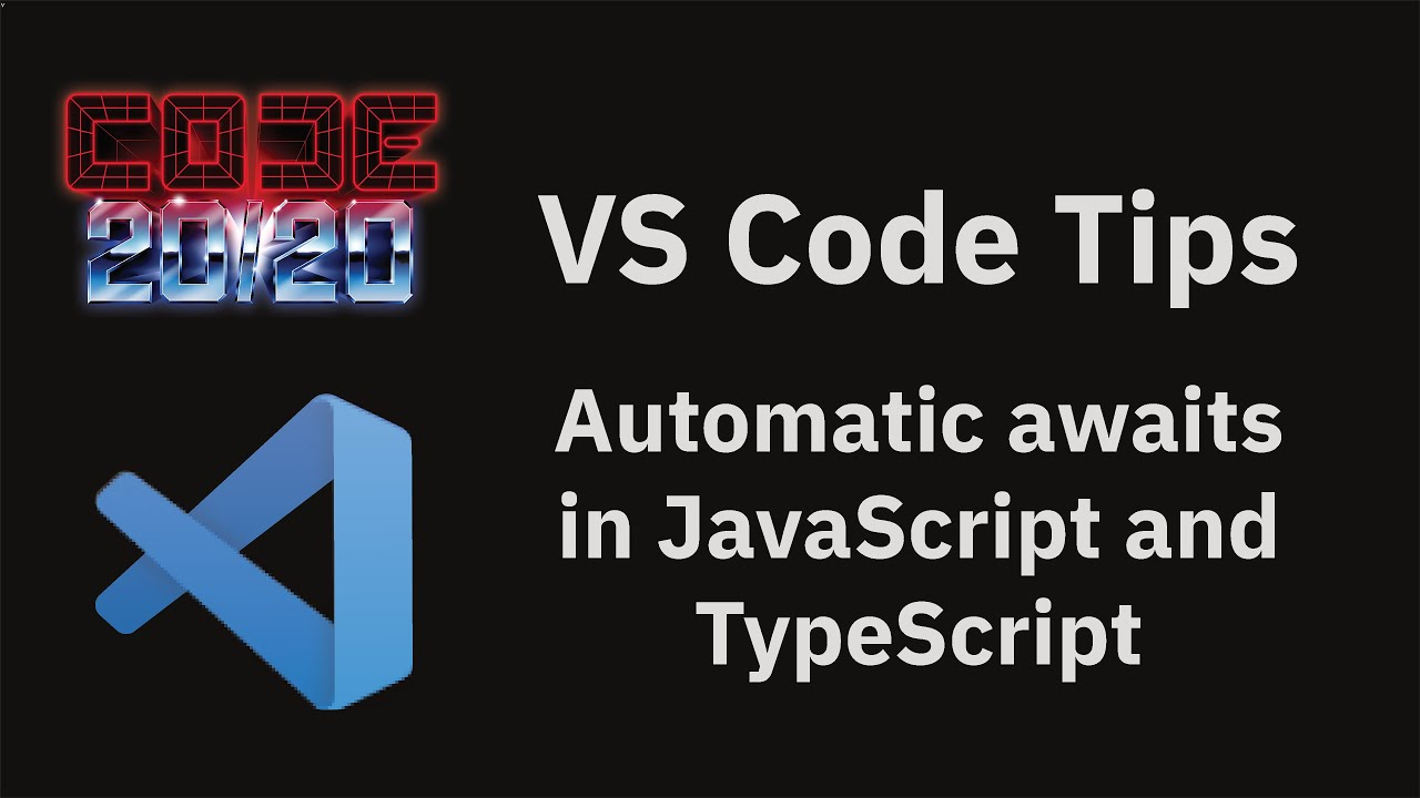 Automatic awaits in JavaScript and TypeScript